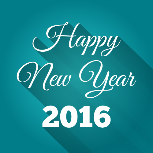 Happy New Year Font 87
